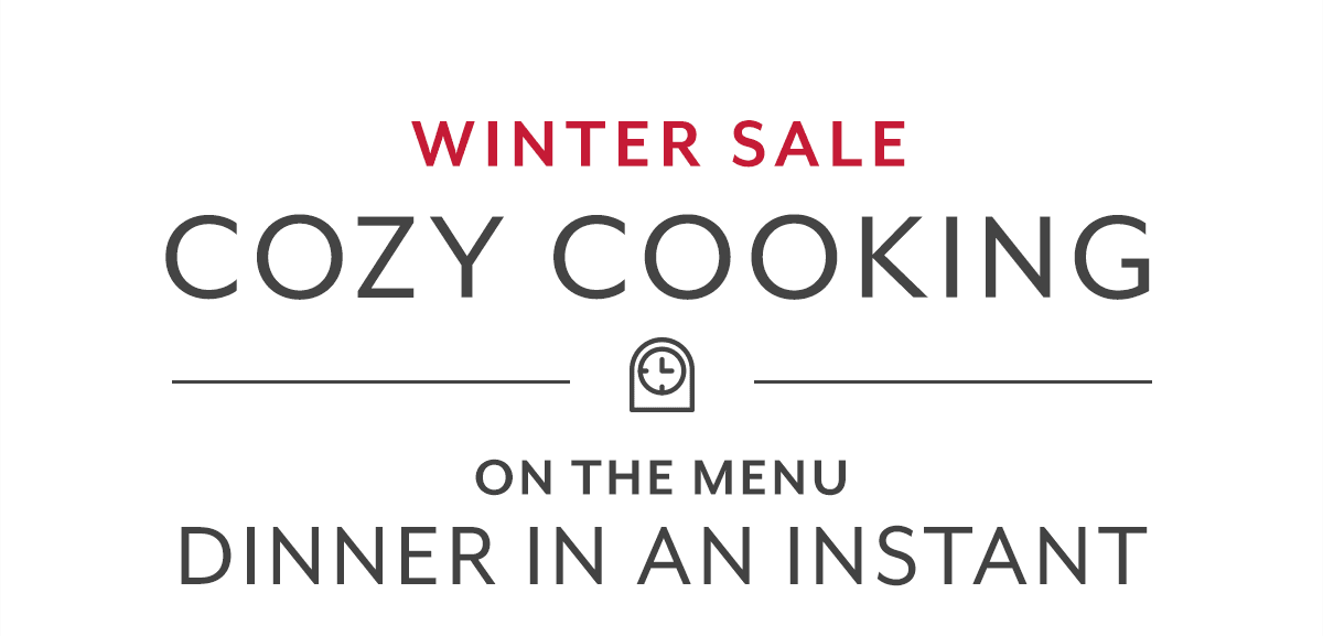 Cozy Cooking • Dinner in an Instant