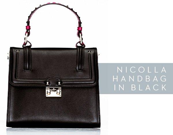 Nicolla Handbag in Black