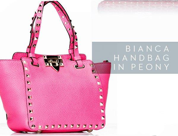 Bianca Handbag in Peony