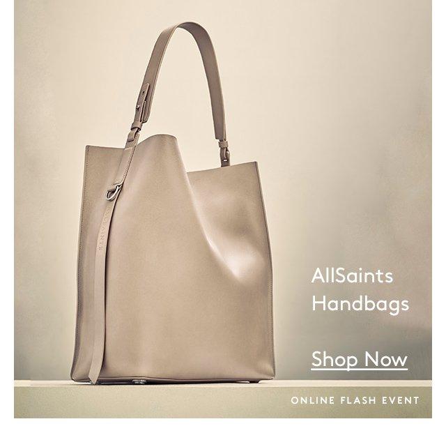 AllSaints Handbags | Shop Now | Online Flash Event