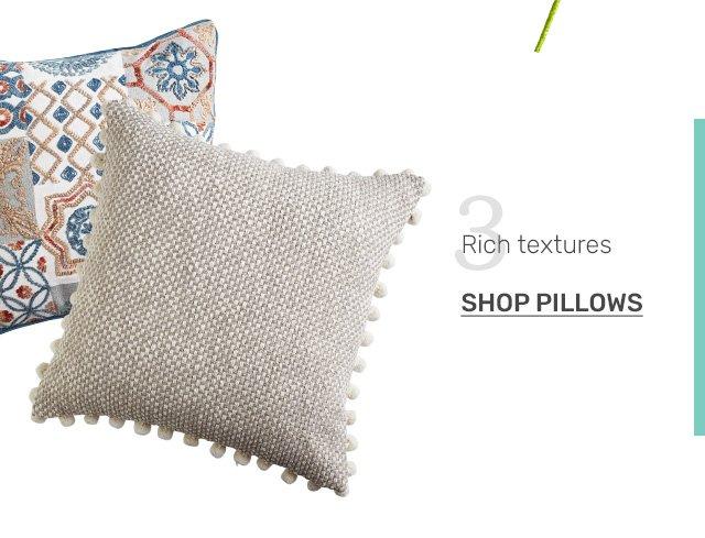 Shop pillows.