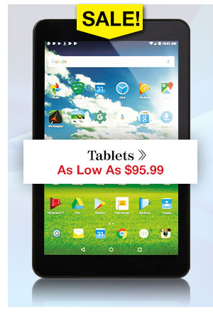 Shop Tablets!