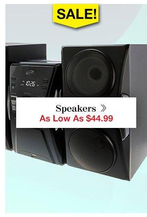 Shop Speakers!