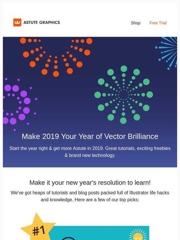 Astute Graphics: Make 2019 Your Year of Vector Brilliance   Milled