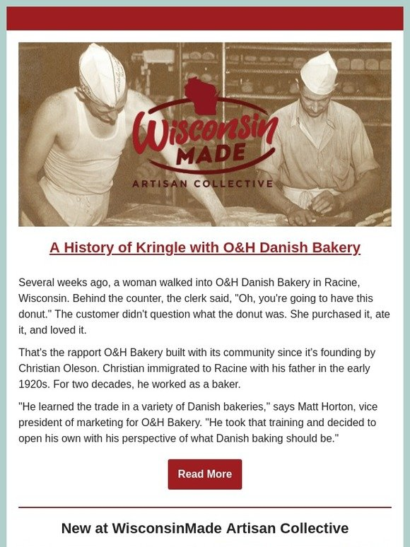 Wisconsinmade Com The History Of Kringle With O H Danish Bakery