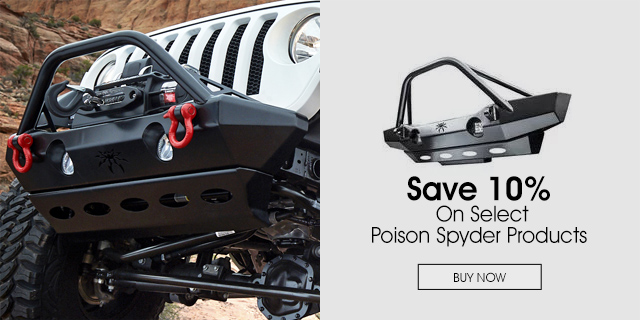 10% Off on Poison Spyder products