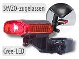 6904 Rücklicht Frontlicht Fahrradleuchte USB LED Sicherheit Light Licht Lampe