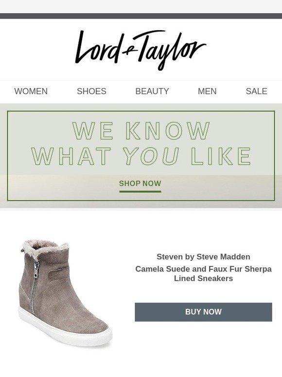 Taylor: Steven by Steve Madden shoes we