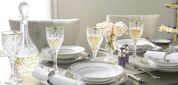 Wedgwood, Waterford & More Deluxe Tableware