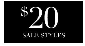 SHOP 20 SALE STYLES