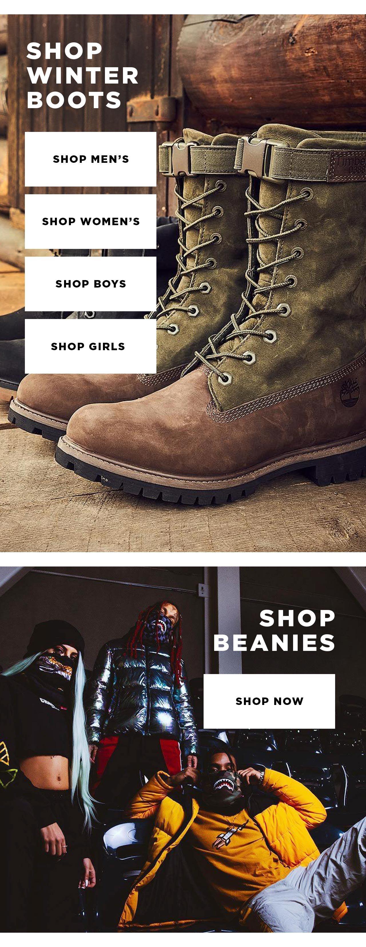Winter Boots at DrJays.com