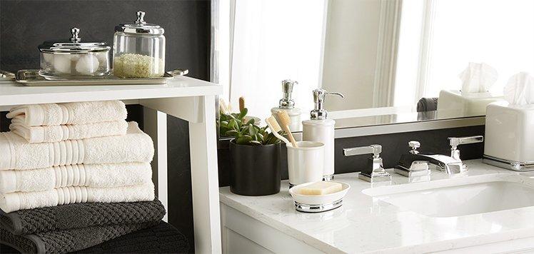 Get the Look: Five-Star Hotel Bath