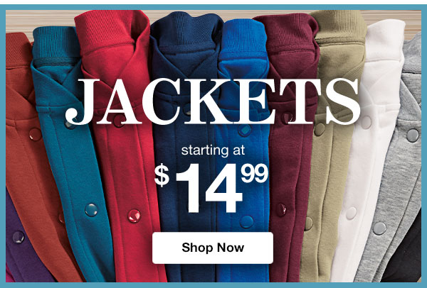 Shop Jackets!