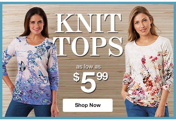 Shop Knit Tops!