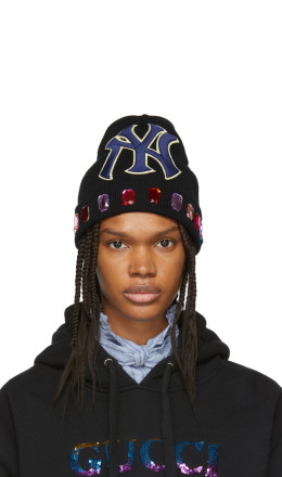 Gucci - Black NY Yankees Edition Wool Beanie