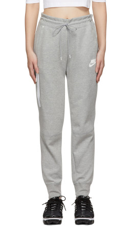 Nike - Grey Tech Fleece Lounge Pants