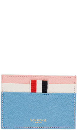 Thom Browne - Multicolor Fun Mix Double Sided Card Holder