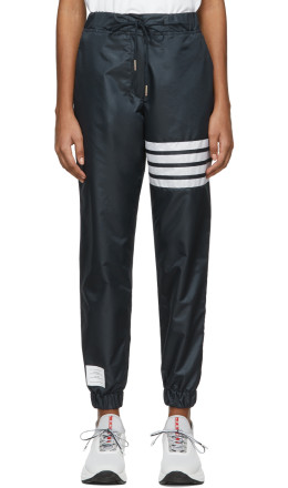 Thom Browne - Navy Four-Bar Vintage Lounge Pants