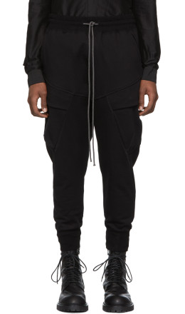 The Viridi-anne - Black Cargo Lounge Pants
