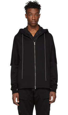 The Viridi-anne - Black French Terry Hoodie