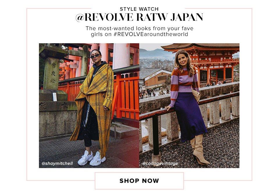 Style Watch @REVOLVE RATW Japan. Shop now