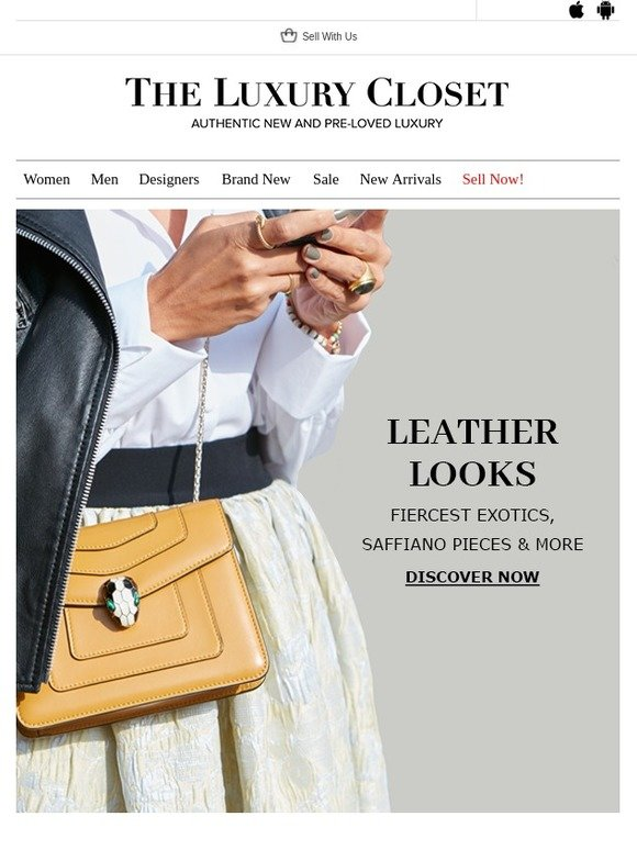 53e7ef529 The Luxury Closet WW: Leather Looks | Milled