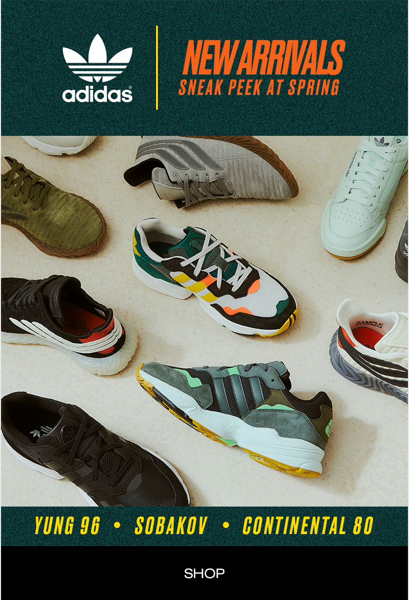 adidas - New Arrivals - Sneak Peek At Spring - Shop