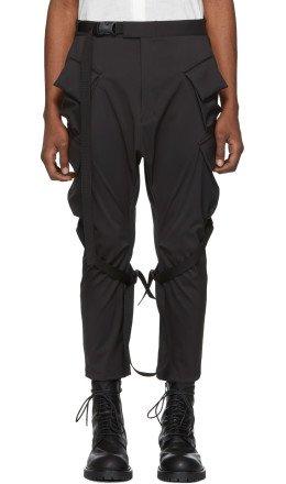 The Viridi-anne - Black Cargo Pants