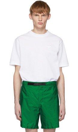 Prada - White Pique T-Shirt