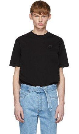 Prada - Black Pique T-Shirt