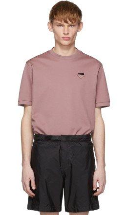 Prada - Pink Pique T-Shirt