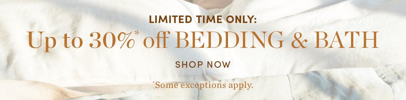Semi-annual white sale