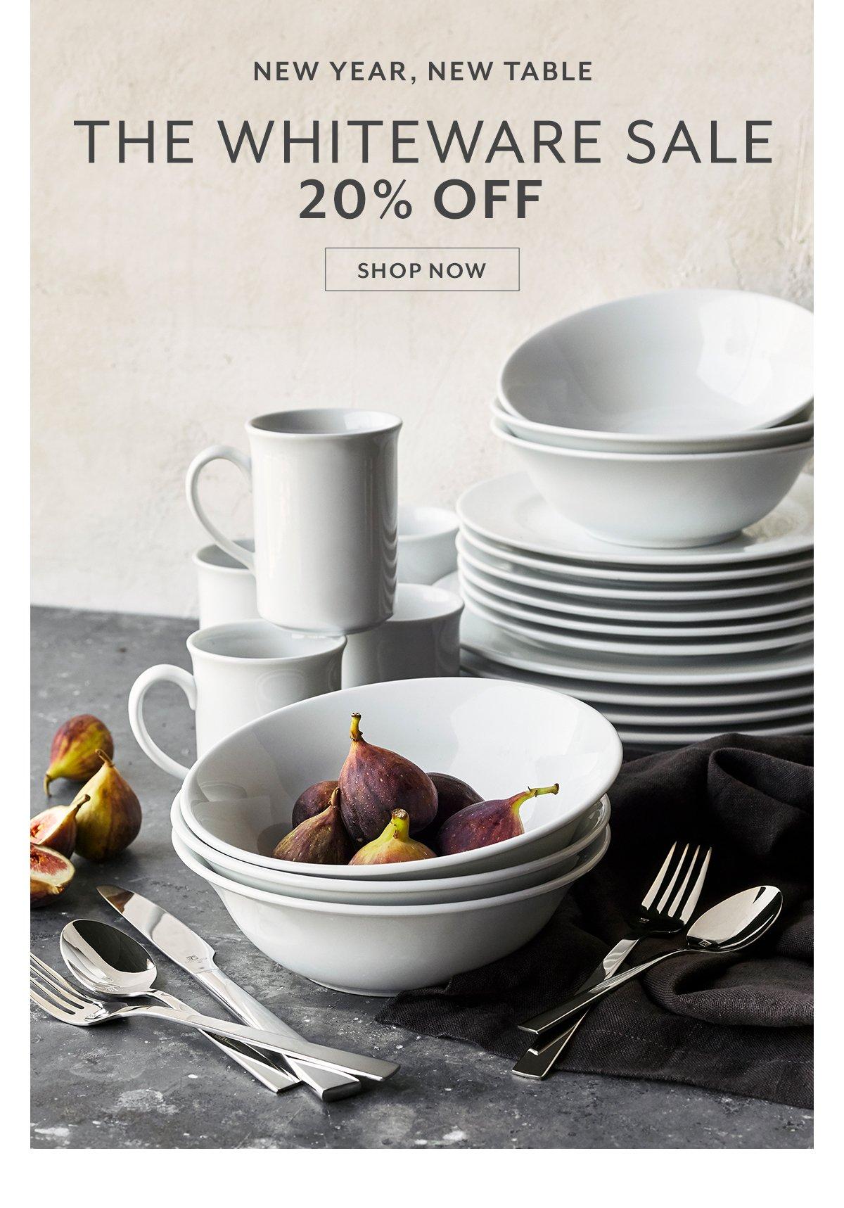 Whiteware Sale