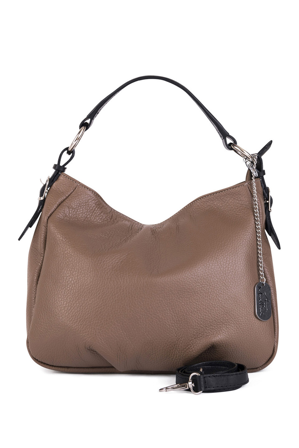 KATHY HANDBAG IN DARK TAUPE