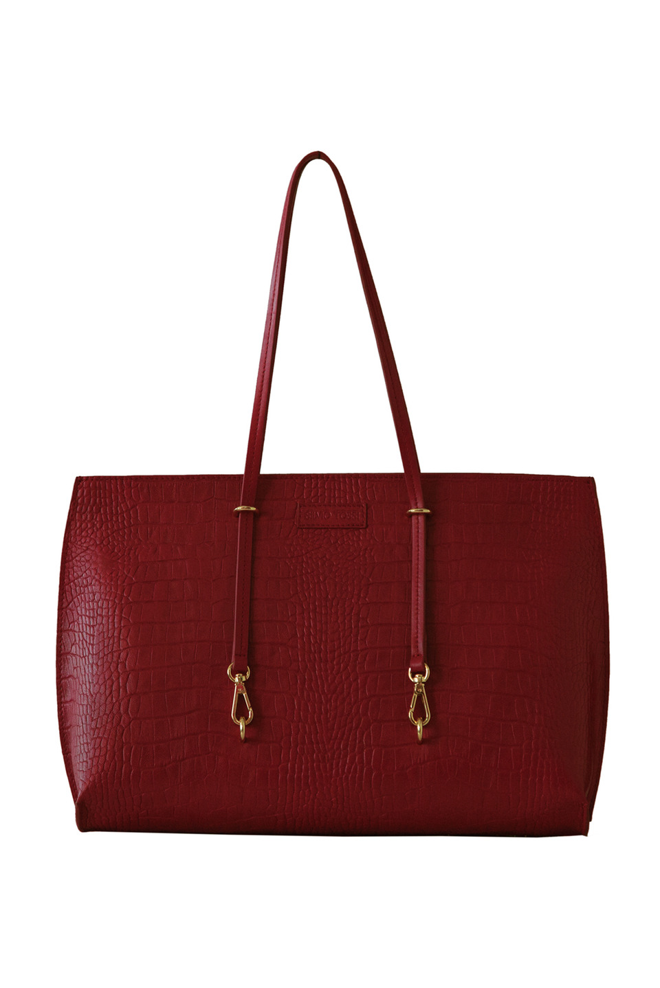 SABLE HANDBAG IN WINE