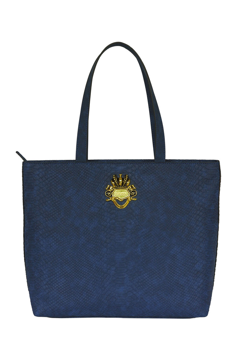 BEVERLY LEATHER SHOULDERBAG IN DARK BLUE