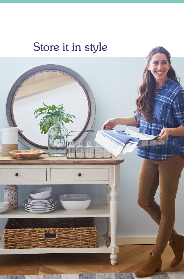 Store it in style