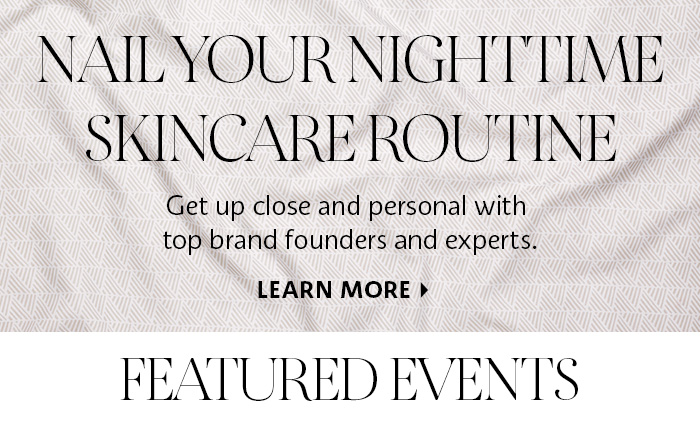 Nail Your Nighttime Skincare Routine