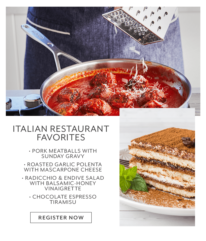 Class - Italian Restaurant Favorites
