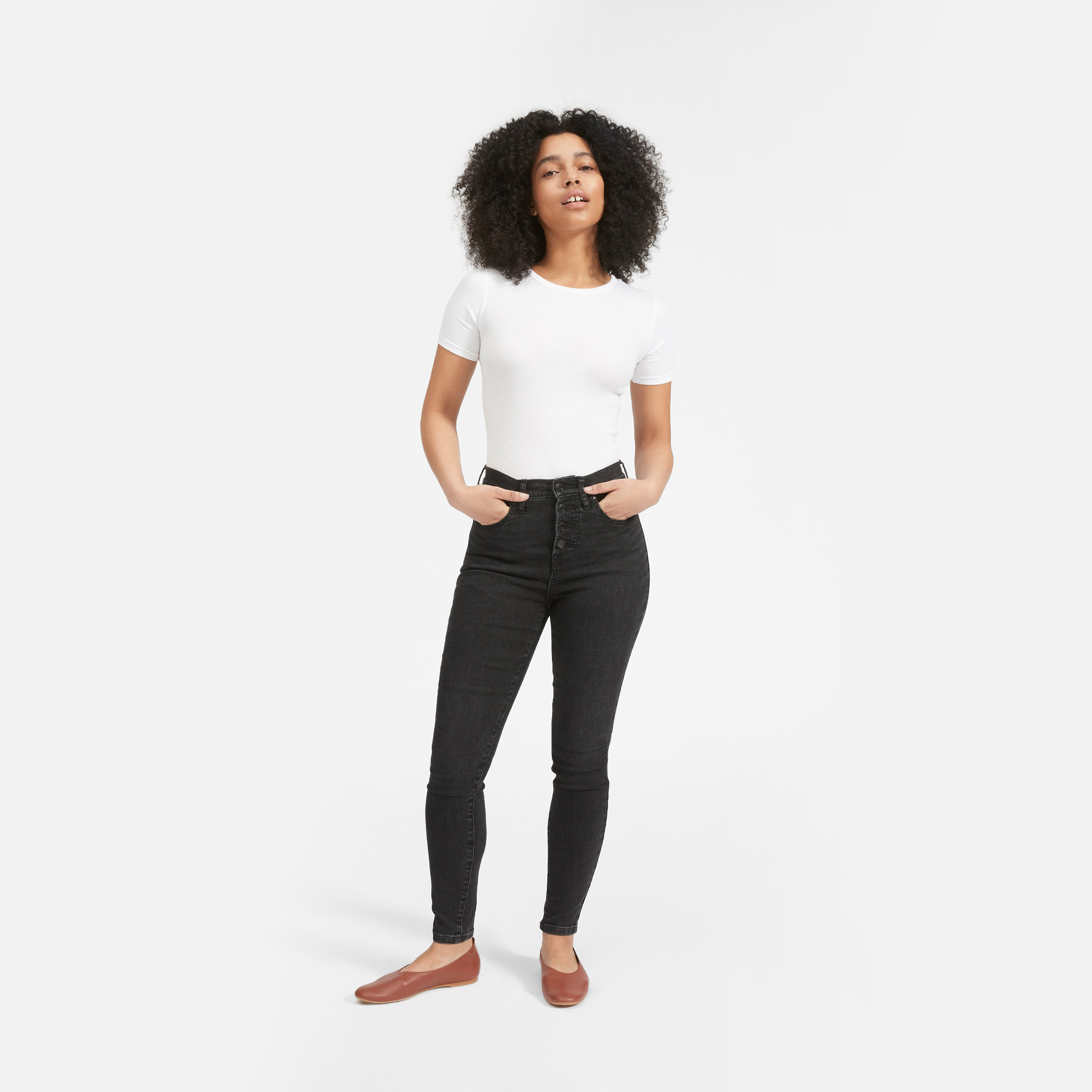 The Authentic Stretch High-Rise Skinny Jean (Regular)