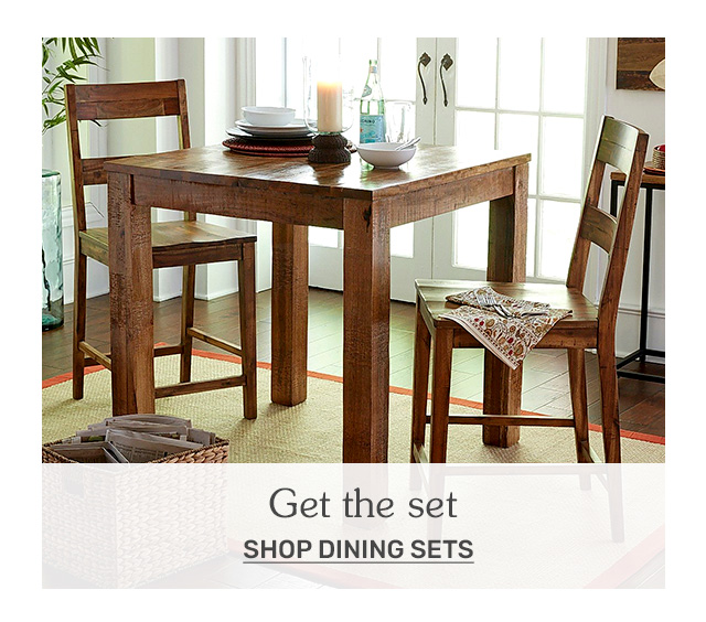 Shop dining sets.