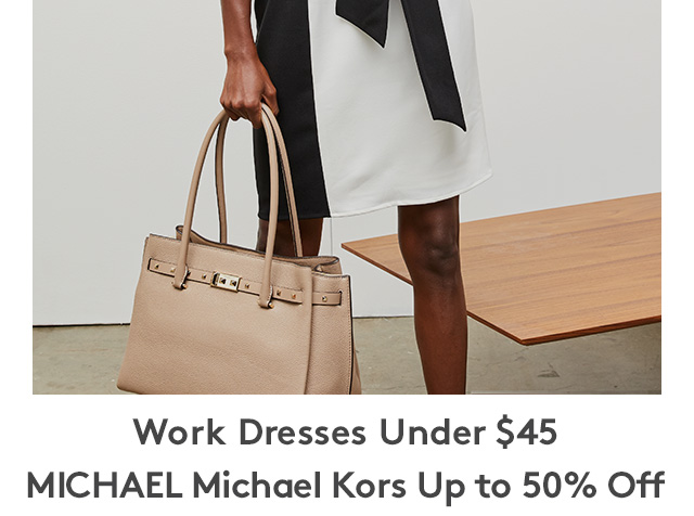 Work Dresses Under $45 | MICHAEL Michael Kors Up to 50% Off