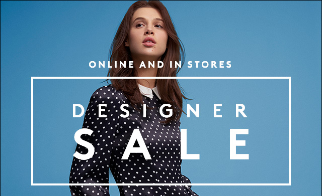 Already up to 75% off! Shop the Designer Sale for New Year style.
