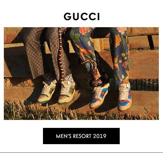 Shop Gucci Men's Resort