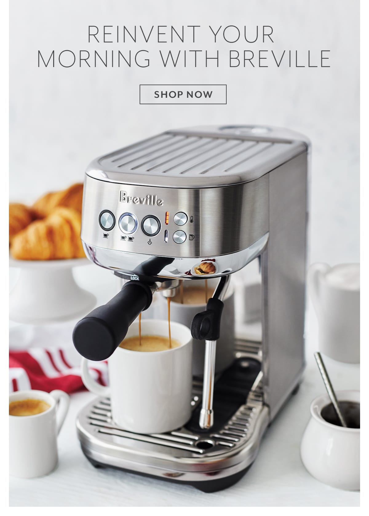 Reinvent Your Morning with Breville