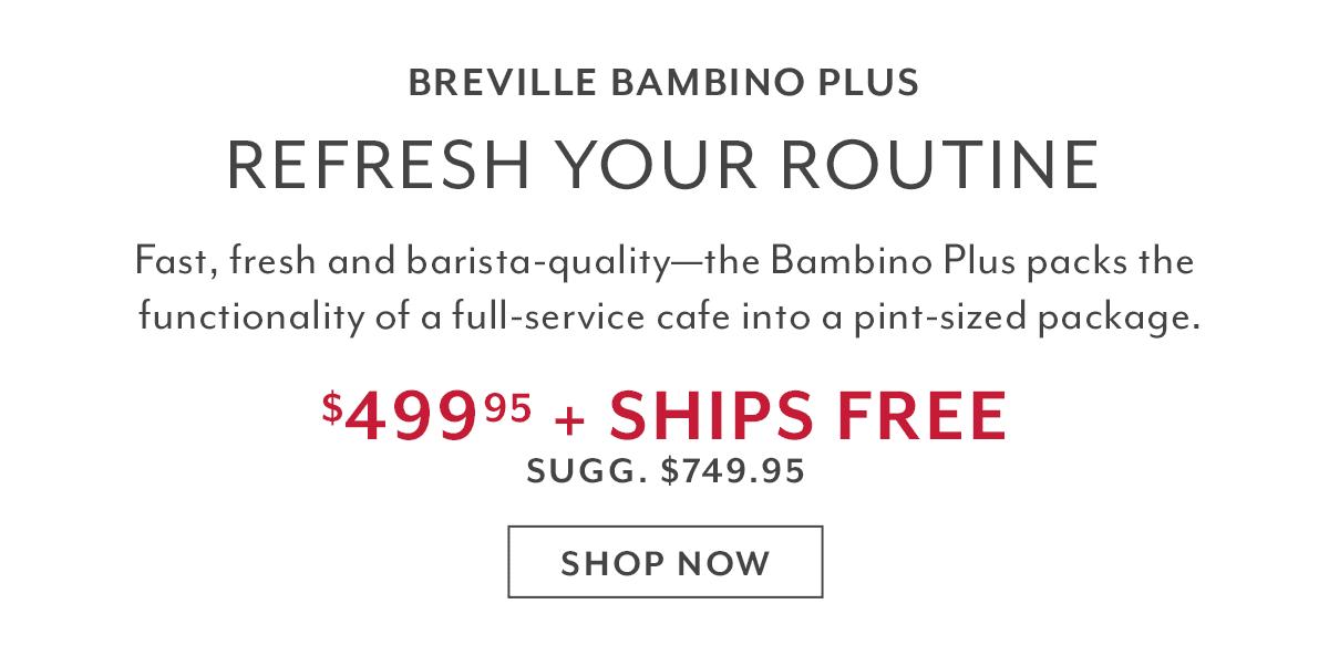 Breville Bambino Plus