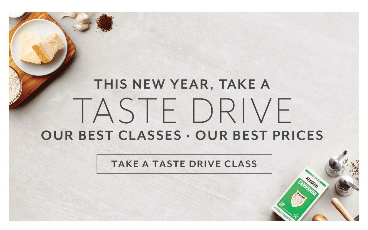Taste Drive Classes