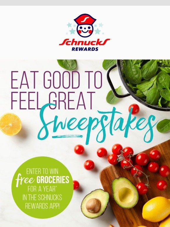 Schnuck Markets, Inc : Enter to Win FREE Groceries for a Year! | Milled