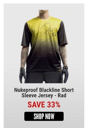 Nukeproof Blackline Short Sleeve Jersey - Rad