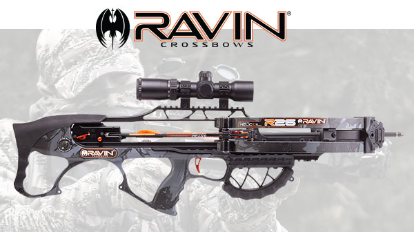 BE THE FIRST TO OWN A NEW RAVIN CROSSBOW